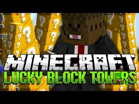 Minecraft: Lucky Block Tower Pvp Modded Minigame W  Tbnrfrags, Vikkstar And Ashleymariee video