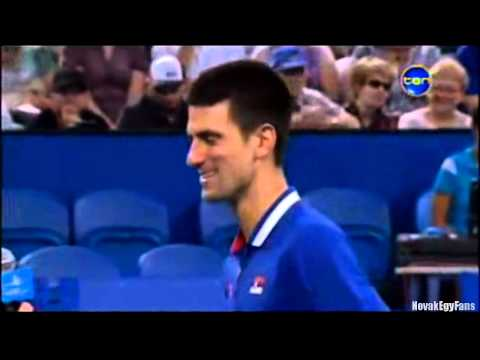 Novak Djokovic funniest moments - Part  2