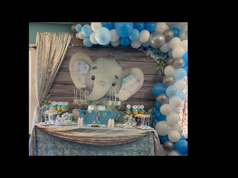 Elefant theme Baby Shower