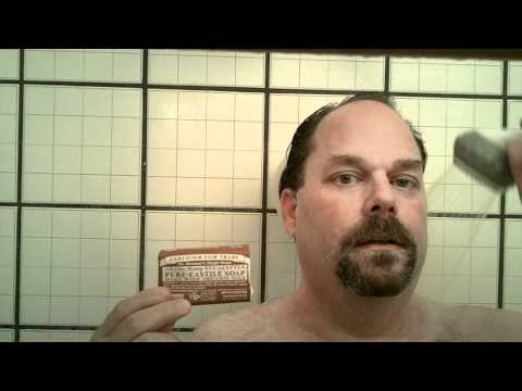 Healthy Shaving Cream: Dr. Bronner's Bar Soap