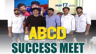 ABCD Movie Success Meet | Allu Sirish | Rukshar Dhillon | Tollywood News | Top Telugu Media