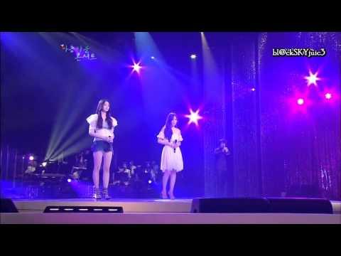 Davichi - One's Way Back LIVE [engsub+kara roman]