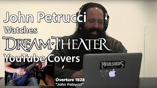 John Petrucci Watches DREAM THEATER Fan YouTube Covers | MetalSucks