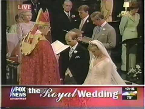 Royal Wedding 1999 Edward Amp Sophie 4 Of 8 Youtube