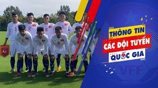 Phung phí cơ hội, U17 Việt Nam thua đáng tiếc trận ra quân tại Jenesys 2018 | VFF Channel