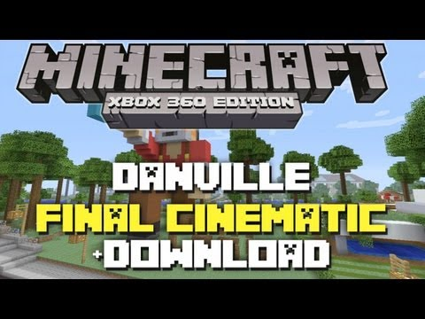 Minecraft Xbox 360: Danville Final Cinematic Showcase + Download!