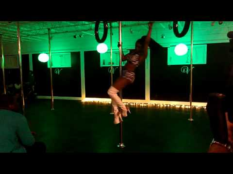 Pole Dance Clips- Atlanta Best Pole Fitness Studio- Vertical Joe's