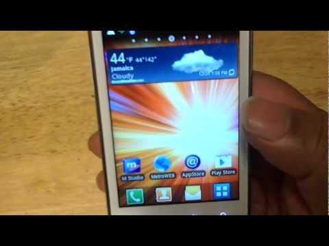 Samsung Galaxy Admire 4g metro pcs review