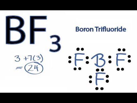 Lewis Structures Shapes Lewis Structure For Bf3 Boron