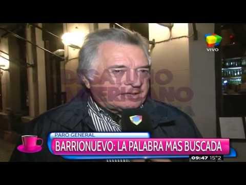 """Barrionuevo: """"En la época de los militares negociábamos más"""""""