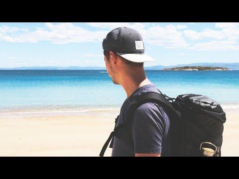 Weltreise Tag 644 • Hazard's Beach Track im Freycinet Nationalpark  • Tasmanien • Vlog #101