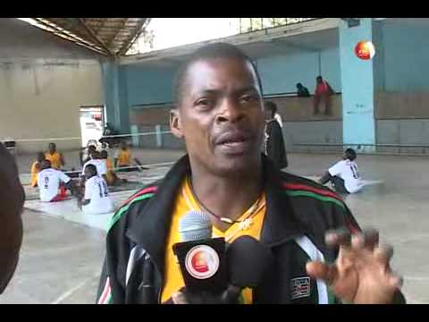 Nairobi Sitting volleyball teams received 200, 000 shillings from the Kenya Charity Sweepstake