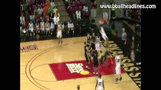 Unbelievable, head-above-the-rim  dunk by 16-year old Victor Dukes