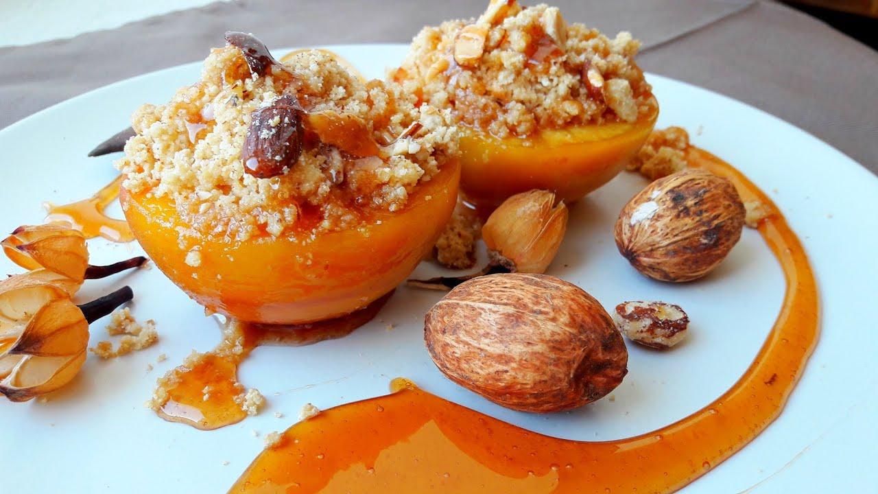 Десерты из персиков рецепты