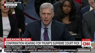 Neil Gorsuch relates how he learned he was on Trump