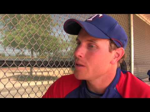 Texas Rangers Spring Training 2009 - Josh Hamilton Video