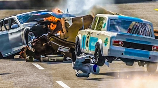 HIGH SPEED PILE UP CRASHES #3 - BeamNG Drive