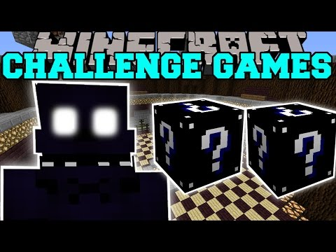 Minecraft: SHADOW FREDDY CHALLENGE GAMES - Lucky Block Mod - Modded Mini-Game