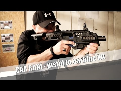 CAA RONI G1 and G2 - pistol to carbine conversion system - GUNMAGAZIN