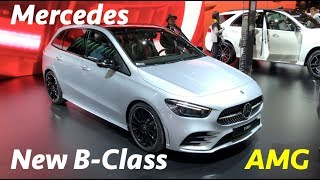New Mercedes B-Class 2019 first look in 4K - AMG package