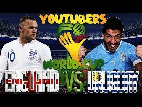 World Cup 2014 Uruguay Beats England 2-1