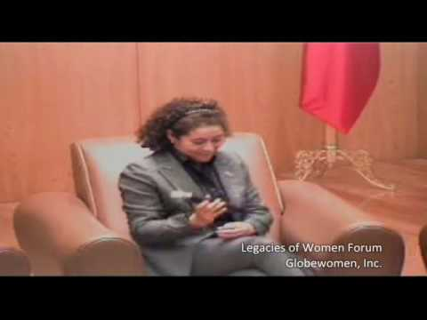 Legacies of Women Forum Interview. Maria del Carmen Valencia.