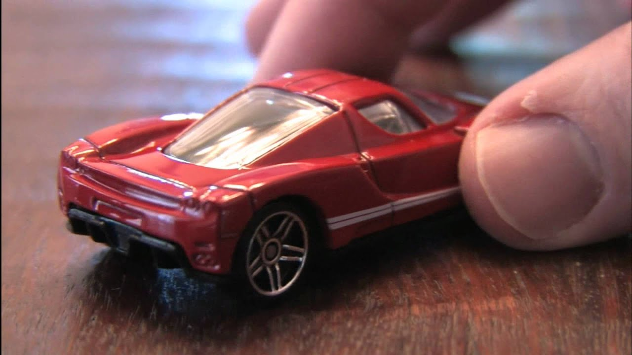 Enzo Ferrari Hot Wheels Review By Cgr Garage Youtube