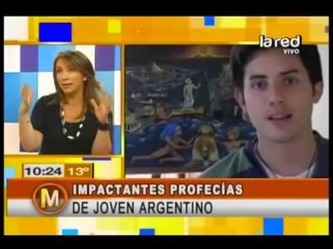 Profecías de joven argentino