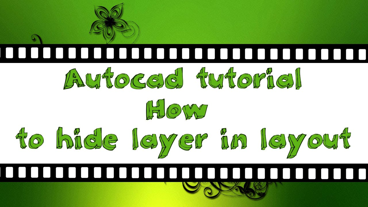 AutoCAD Tutorial  Object Properties  CADTutor