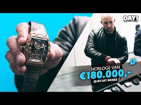 Horloges van Messi, Ronaldo en Max Verstappen? (CVSTOS Genève) || #DAY1 Special