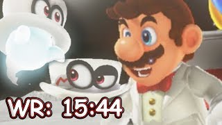 Perfect Co-op Speedrun in Super Mario Odyssey [15:44] WR