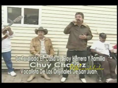 CHUY CHAVEZ en una terdeada en casa de Eloy Herrera