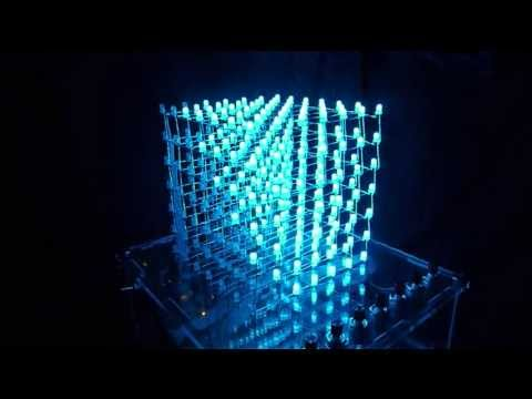 LED Cube Light Show: Corner To Corner