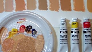 FIFTY SHADES OF...SKIN - How to mix CAUCASIAN flesh tones by ART Tv