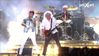 ghost town e who wants to live forever Queen + Adam Lambert Rock in Rio 2015 HDTV