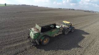 Suggitt Farm Services - Muck Spreading
