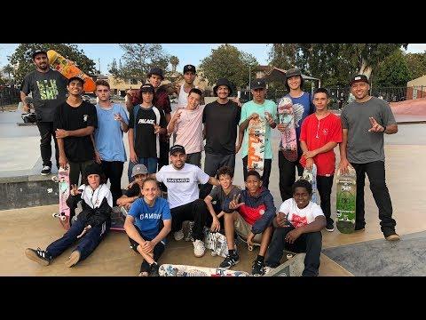 SKATE NATION AWESOME BRAZILIAN SKATEBOARDERS !!! - NKA VIDS -
