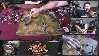AngryJoe Street Fighter Live Gameplay Session!