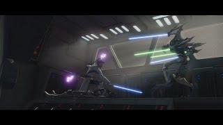 Star Wars: The Clone Wars - Obi-Wan Kenobi vs. General Grievous [1080p]