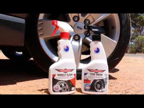 How to Clean Wheels using Bowden's Own Products