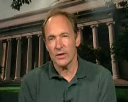 Tim Berners-Lee (M.I.T.), father of the World Wide Web...