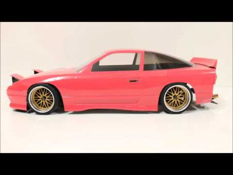 Eac RC Body Build -- Nissan 180SX Silvia