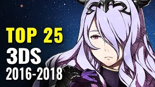 Top 25 3DS Games of 2016, 2017 & 2018