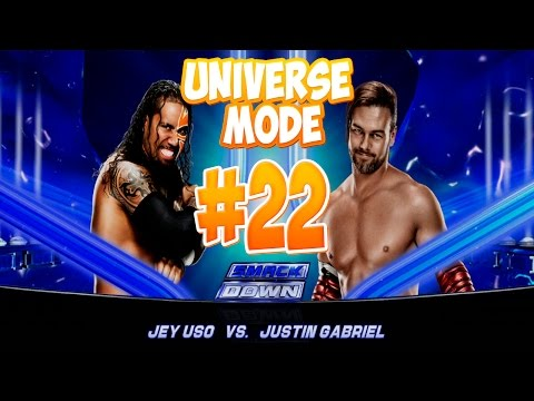 Wwe 2k15 - Jey Uso Vs Justin Gabriel (universe Mode) [walkthrough   прохождение #22] video