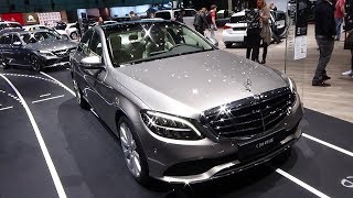 2019 Mercedes-Benz C200 4Matic Berline - Exterior and Interior - Geneva Motor Show 2018