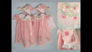 Embroidered Baby Clothes