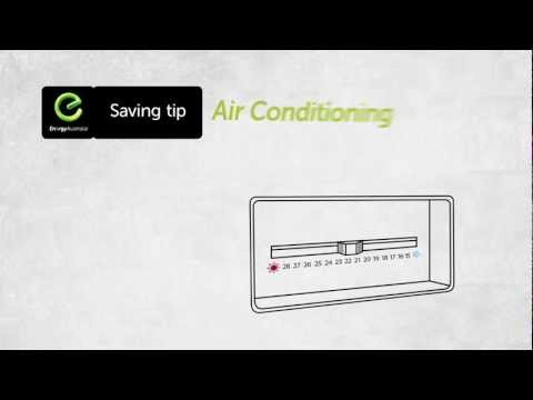 EnergyAustralia CSIRO Saving Tip - Air conditioning