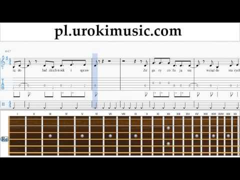 Jak Zagrać Na Gitarze Agnieszka Chylińska - Królowa Łez Tabulatura Lekcje Część 2 Um-i352