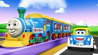 Sonic City - Thomas The Train - Choo Choo Train -TRAIN CARTOON - Trains for Kids - Toy Factory