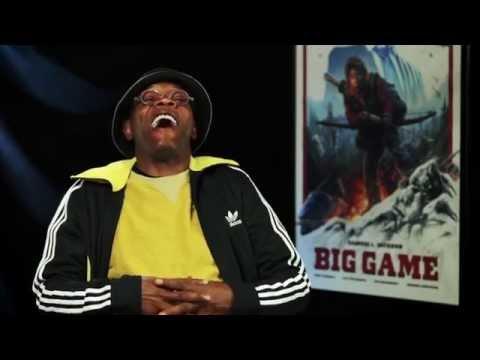 Samuel L. Jackson Introduces His New Movie 'Big Game' at TIFF 2014